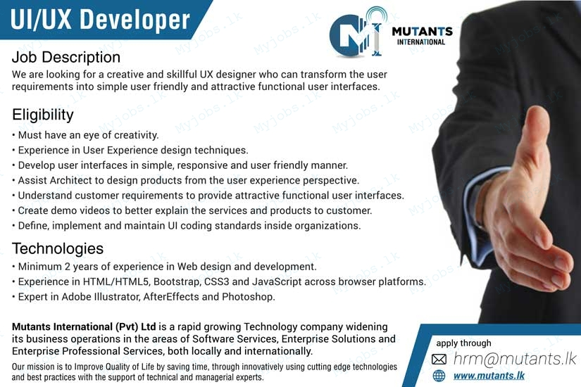 Ui Developer Job Description. Php Developer Cv Sample Areas Of