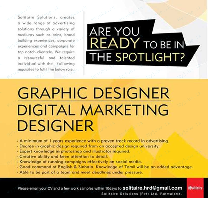 digital marketing designer jobs in sri lanka