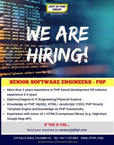Senior Software Engineers - PHP