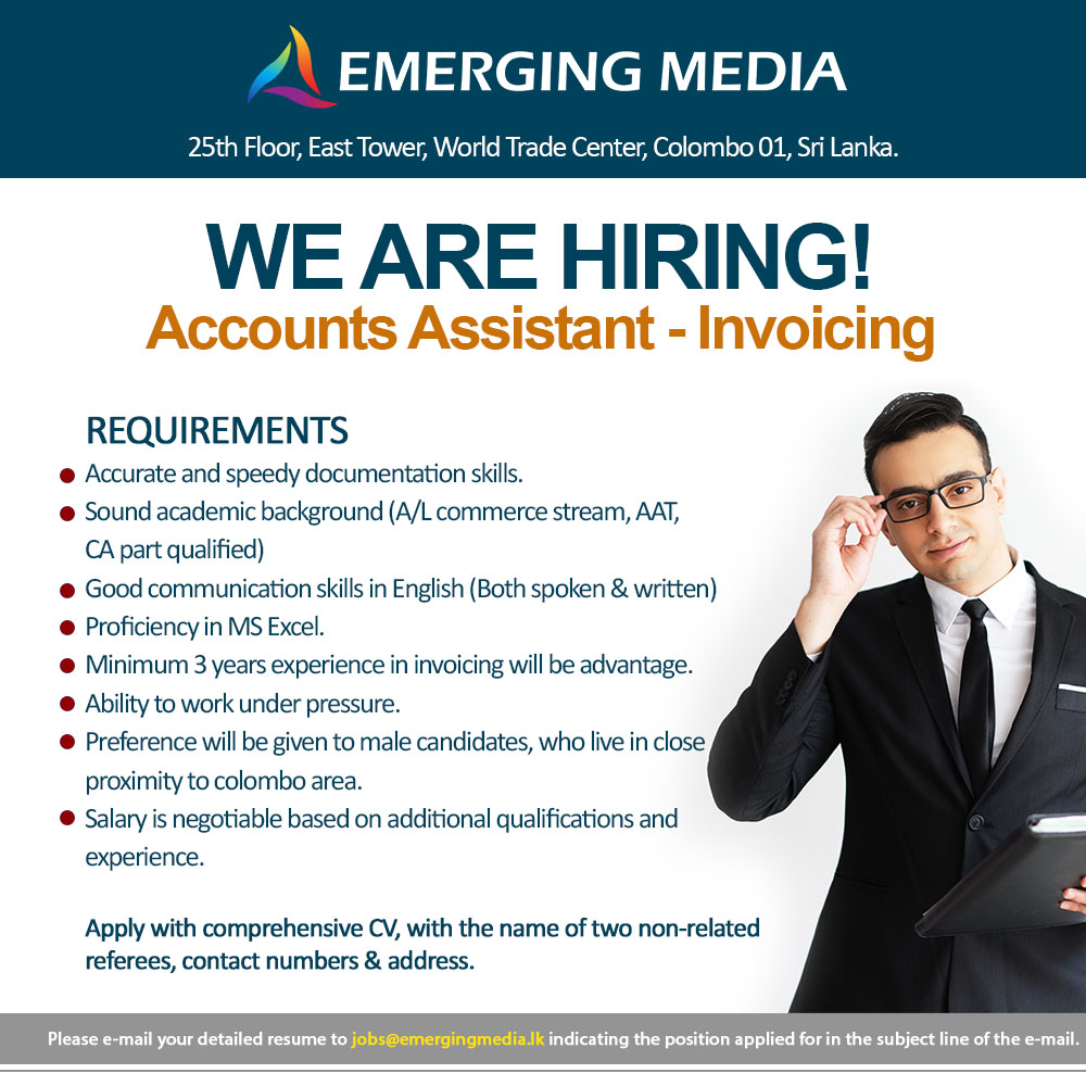 Accounts Assistant - Invoicing